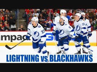 Dave Mishkin calls Lightning highlights from dominant win over Blackhawks