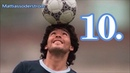 DIEGO MARADONA ►TOP 25 FREESTYLE SKILLS EVER◄ ||HD|| Not Human
