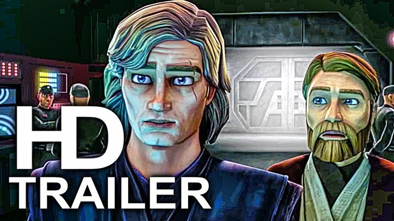 STAR WARS THE CLONE WARS Season 7 Trailer Comic Con 2018