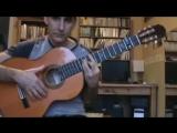 Уроки на гитаре 2018 народная испанская песня Алабина учим акорды.