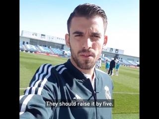 Как игроки РМ отреагировали на свой рейтинг в FIFA