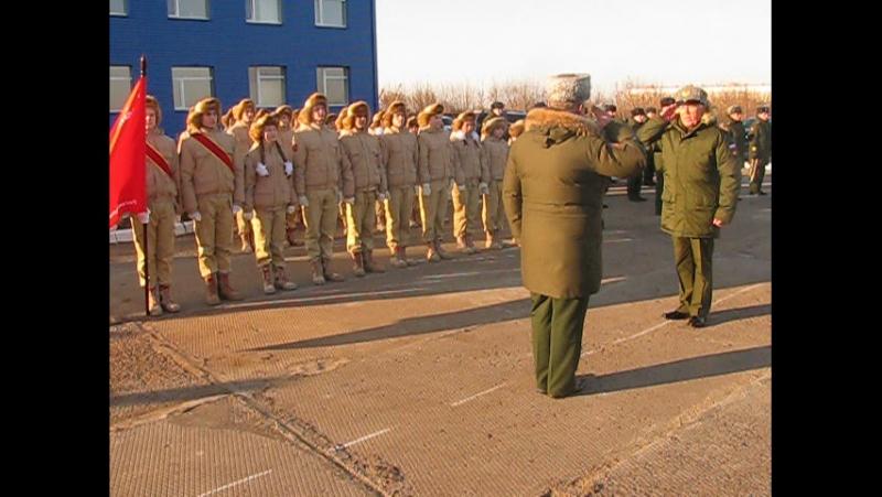 Торжественная клятва, посвященная заключительному этапу формирования 18-й военно-транспортной авиационной дивизии