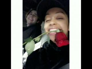 Snapchat Liza and David (4-6 December)