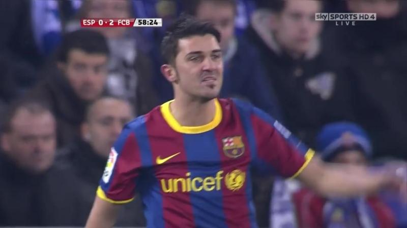 ЧИ 2010-11 | 16 тур | Барселона - Эспаньол