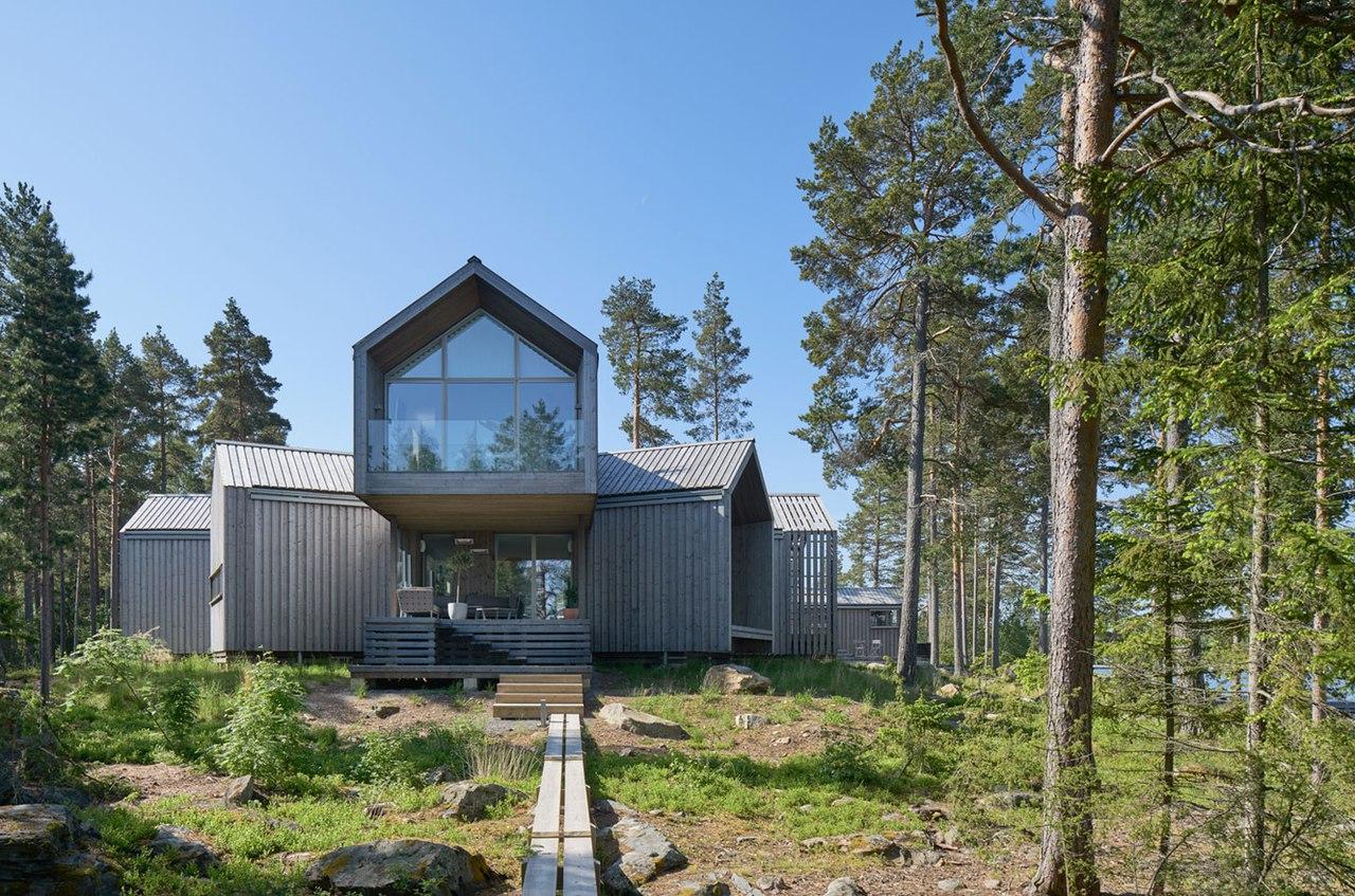 Частный дом в Швеции