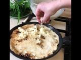 Блины с грибами и с сыром (ингредиенты указаны под фото)