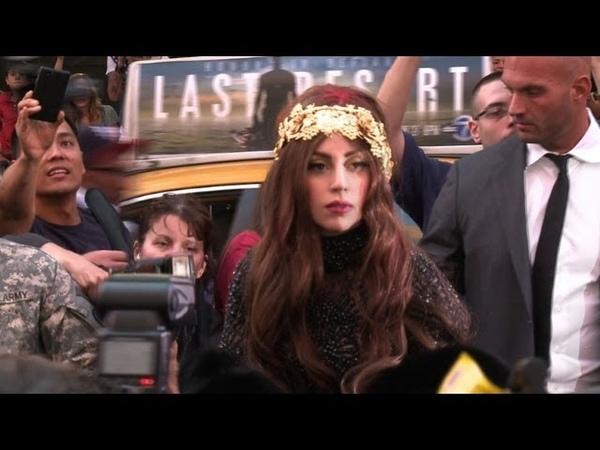 Lady Gaga celebrates launch of new perfume in NY