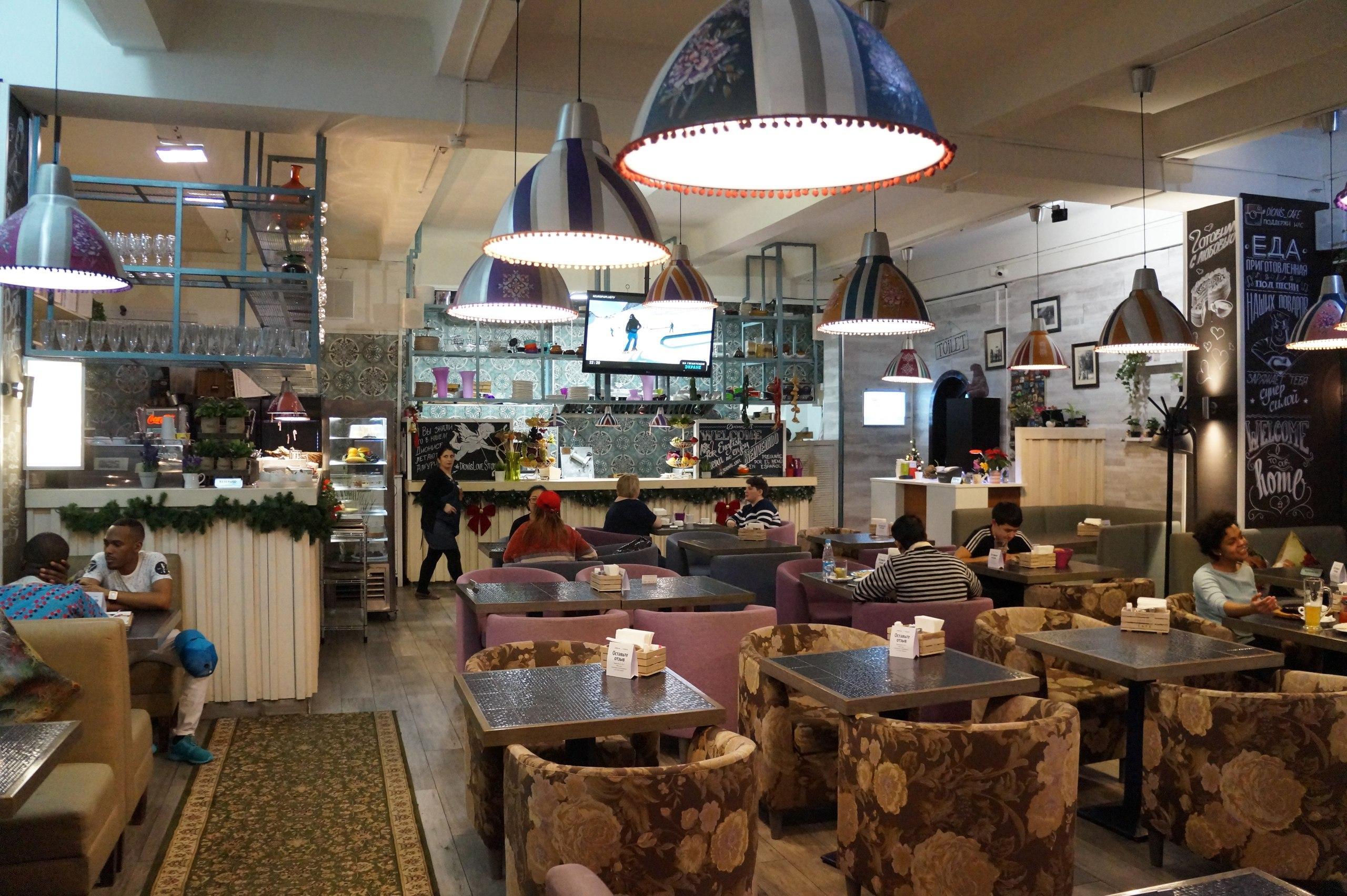 Самый экзотичный ресторан в Москве
