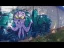 Graffiti-Reny-Gpro-abandoned warehouse(Покрасил заброшенный склад)