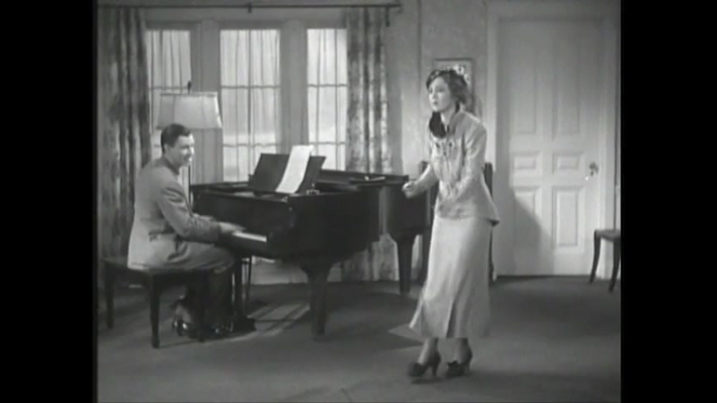 George Murphy and Nancy Carroll Tap Out A Few Dance Steps