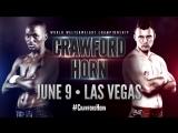 #CrawfordHorn  June 9th  Las Vegas