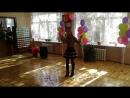 Выступление А. Лопух - Лети за мной
