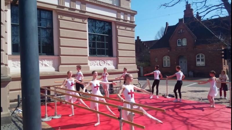 Балетная школа Оденсе_открытый урок.