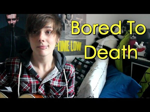 Acoustic Cover: Bored To Death - Blink-182 [WITH CHORDS] (Damon Sparkes)