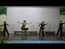 На закрытии смены танцевали Румбу, танец любви