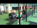 Равиль Султанович, присед 160 кг на 3