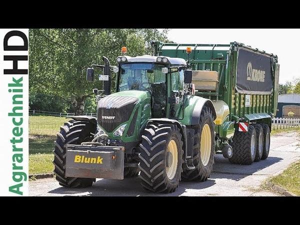 Fendt Traktoren | Fendt Katana | Lohnunternehmen Blunk | Grassilage | AgrartechnikHD