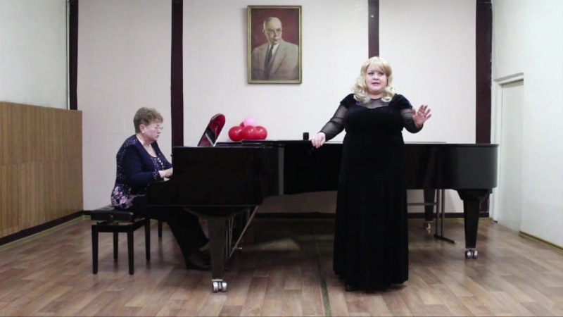 Филатова Наталья А Дворжак ария Русалки из оперы Русалка