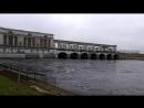 Угличская ГЭС на реке Волге май 2018 года.