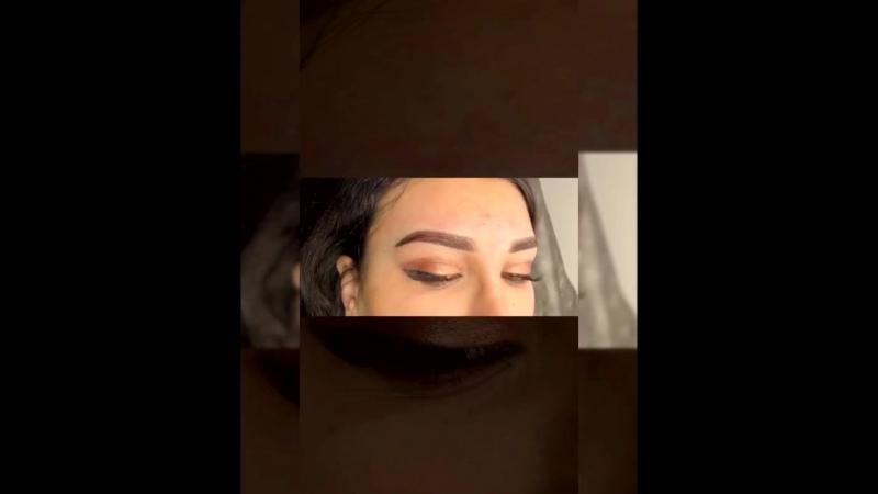 Перманентный макияж бровей сразу после процедуры 🦋ТОП-мастер Яна