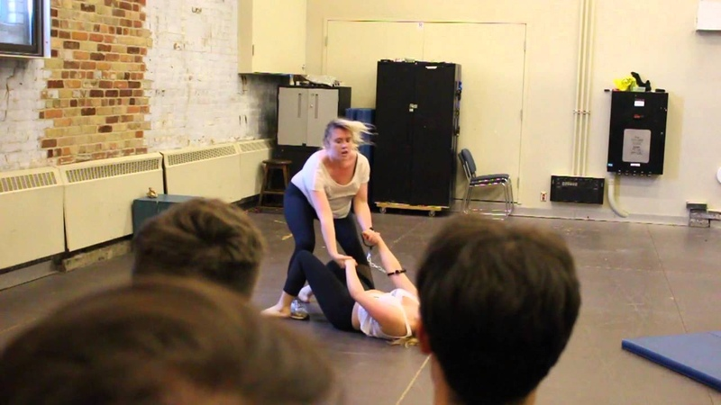 Stage Combat GB 2016 Bonnie and Catherine