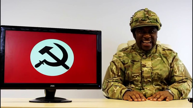 Tyrone introduces the nazbol gang