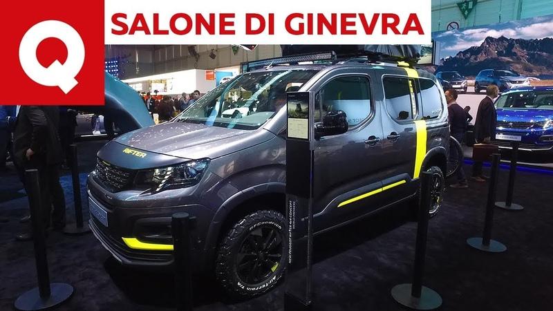 Peugeot Rifter e Rifter 4x4 Concept al Salone di Ginevra 2018 | Quattroruote