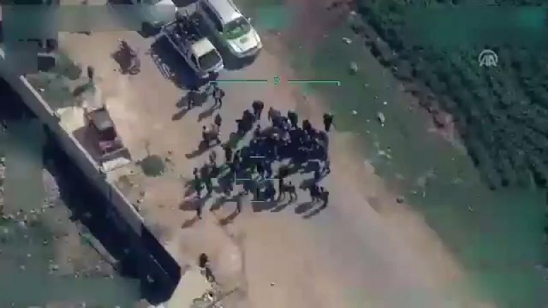 Турецкая разведка следит за тем как курды из РПК не дают выехать мирным из Африна [Dagestan today]