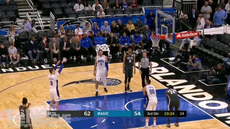 Mario Hezonja vs Nets Full Highlights 23PTS 7REB 3AST March 28 2018 1080 X 1920 mp4