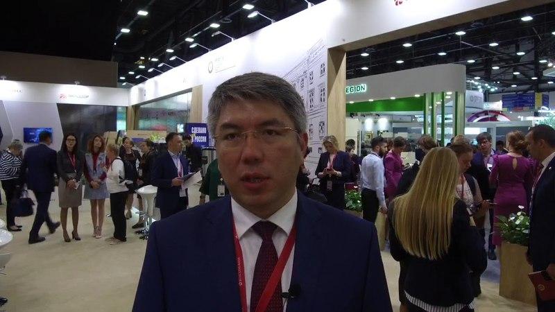 Глава Бурятии Алексей Цыденов участвует в работе Петербургского экономического форума