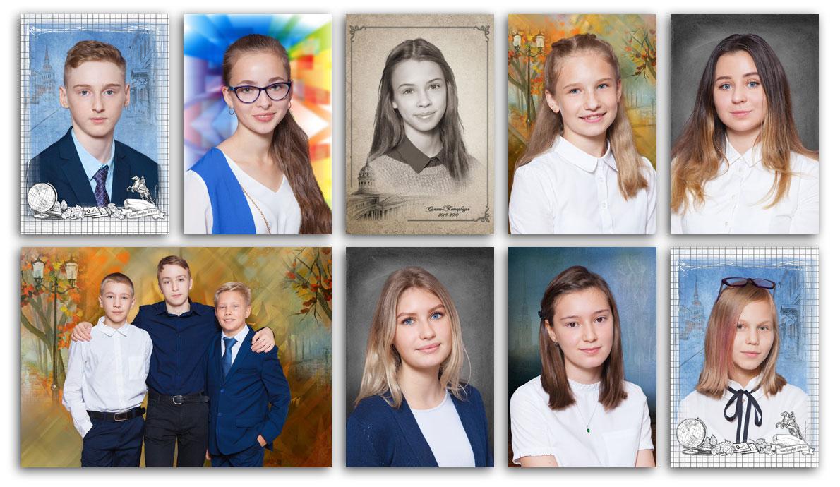 Фотосессия встарших классах вшколе №123Выборгского района Санкт-Петербурга . Портретная, сюжетная итематическая фотосъёмка