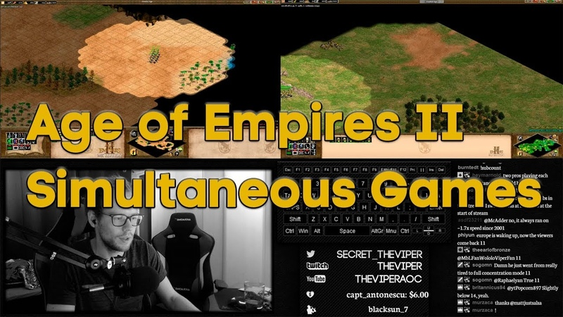 Simultaneous Age of Empires II Games!