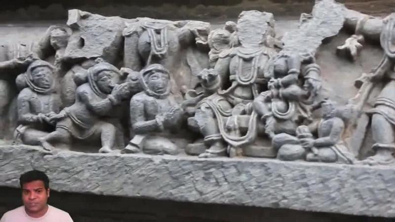 Доказательства древних пришельцев 4 - Храм Хойсалесвара - Барельефы космонавтов