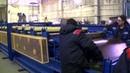 Автоматизированная линия двухъярусной конструкции для производства профнастила C8 и МП20 ABR