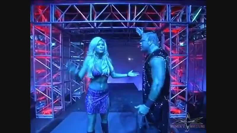 (720pHD)_ WCW Nitro 07_24_00 - Shane Douglas (w Torrie Wilson) vs. Mike Awesome