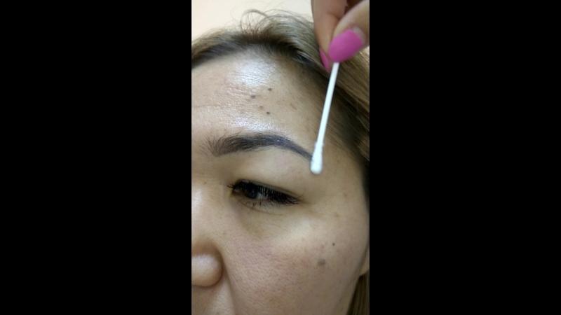 азиатская кожа идеально принимает пигмент