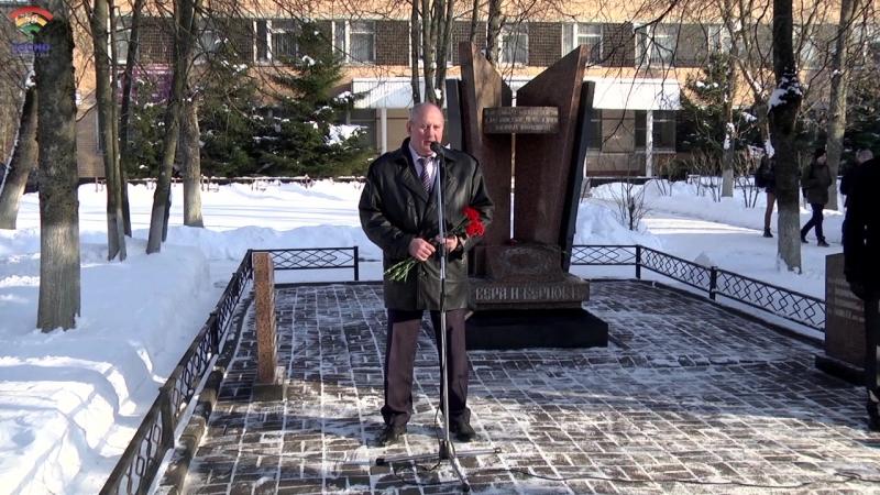 Митинг в память о Россиянах, исполнявших свой служебный долг за пределами отечества, прошел 15 февраля в г.Тосно