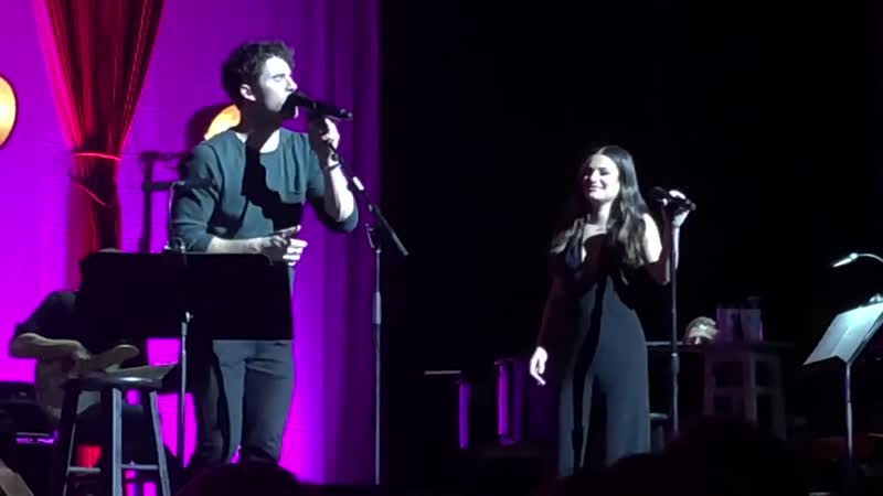 Lea Michele Darren Criss- Don't You Want Me Baby LMDC Tour The Ace Hotel Theater 11-05-18