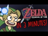The Legend of Zelda Ocarina of Time in 3 Minutes! ArcadeCloud