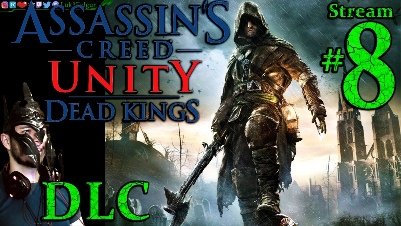 Assassin's Creed Unity 💐DLC🥐1st Time🍷🎨All DLC💸PC💻Max✨8th Stream🎋