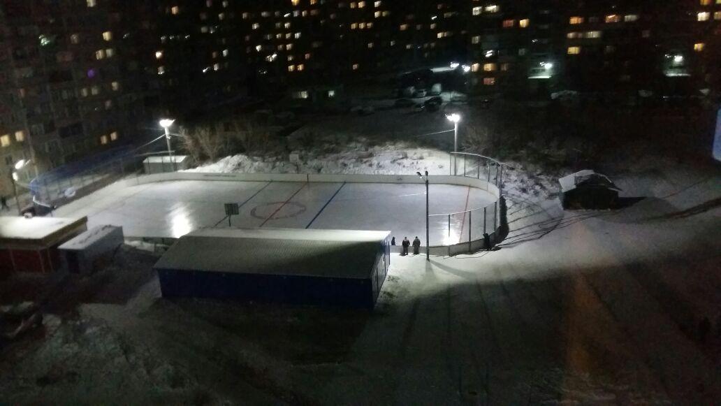 Лед для всех в Новосибирске зимой 2017-2018