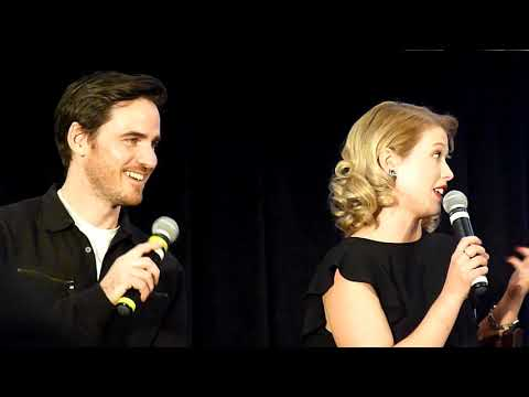 Colin and Rose! Gold panel OUAT Burbank 2018