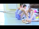 Vaganova Ballet Academy. Exercises on pointe, Classical Dance Exam. Girls, 5th class. 2016