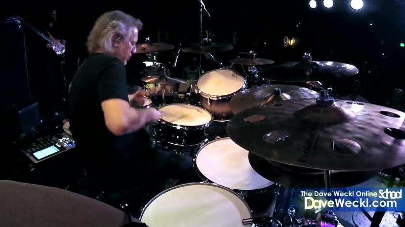 Потолок - Dave Weckl Steroids Drum Solo