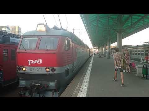 ЧС7-205 с поездом 121 Пенза - Москва