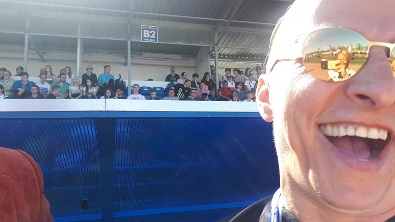 Иван Охлобыстин поддержал движение Невские Моржи за здоровье нации 12 05 2018