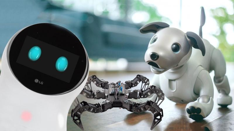Роботы будущего на IFA 2018 очаровательный Aibo, паук и шахматист