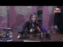 Государыня Поклонская презентовала книгу где она учит россиян любить родину