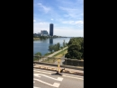 Вена июль 2018 Дунай