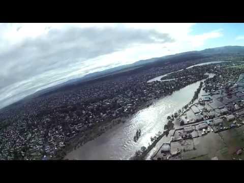 10 07 2018 Наводнение Чита Потоп район Заречный Ипподром с самолета